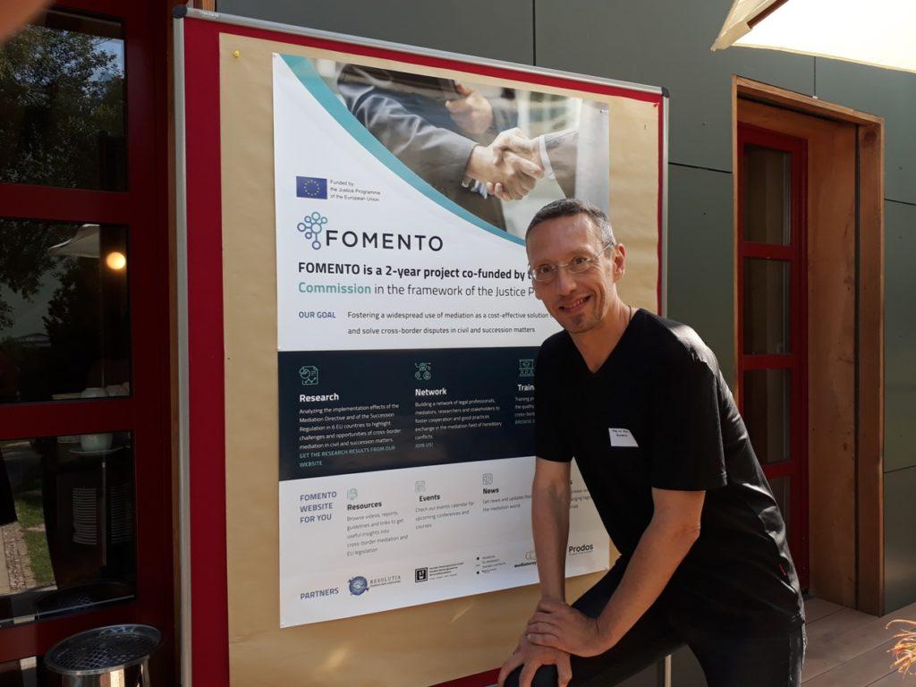 Ulrich Wanderer bei der FOMENTO Konferenz zur Europäischen Erbschaftsmediation